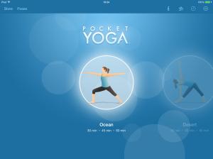 pocket yoga app screenshot