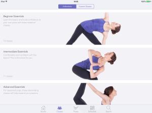 yoga studio app screenshot