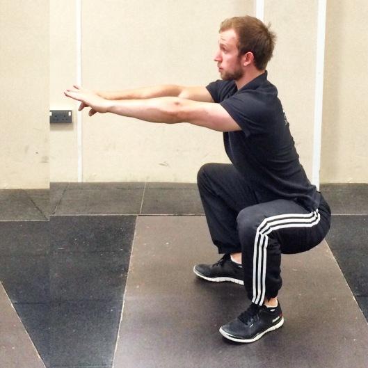 bw squat intagrammed